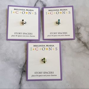 Melinda Maria ICONS Pave Necklace Spacers